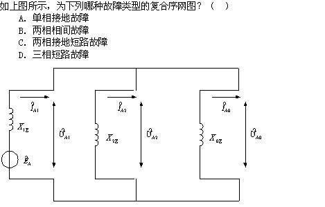 变压器三角形接法的绕组中,零序电势可以作用到外电路去 d.